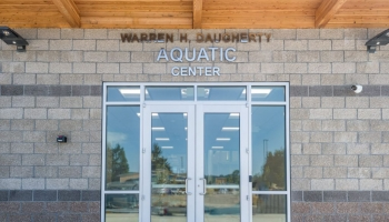 Daugherty Aquatic Center Front