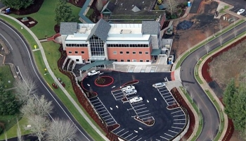 Samaritan Pastega Regional Cancer Center Aerial Photo