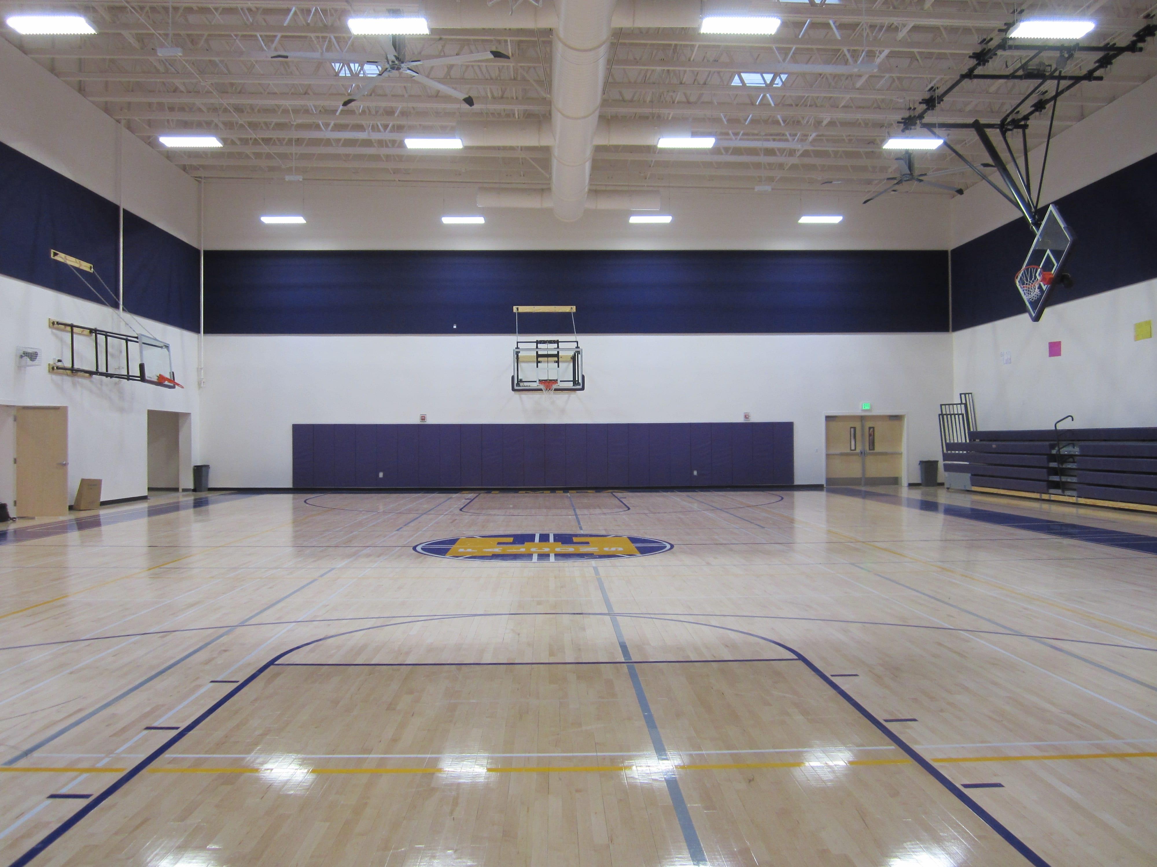 high school gym. Elmira High School Gym L