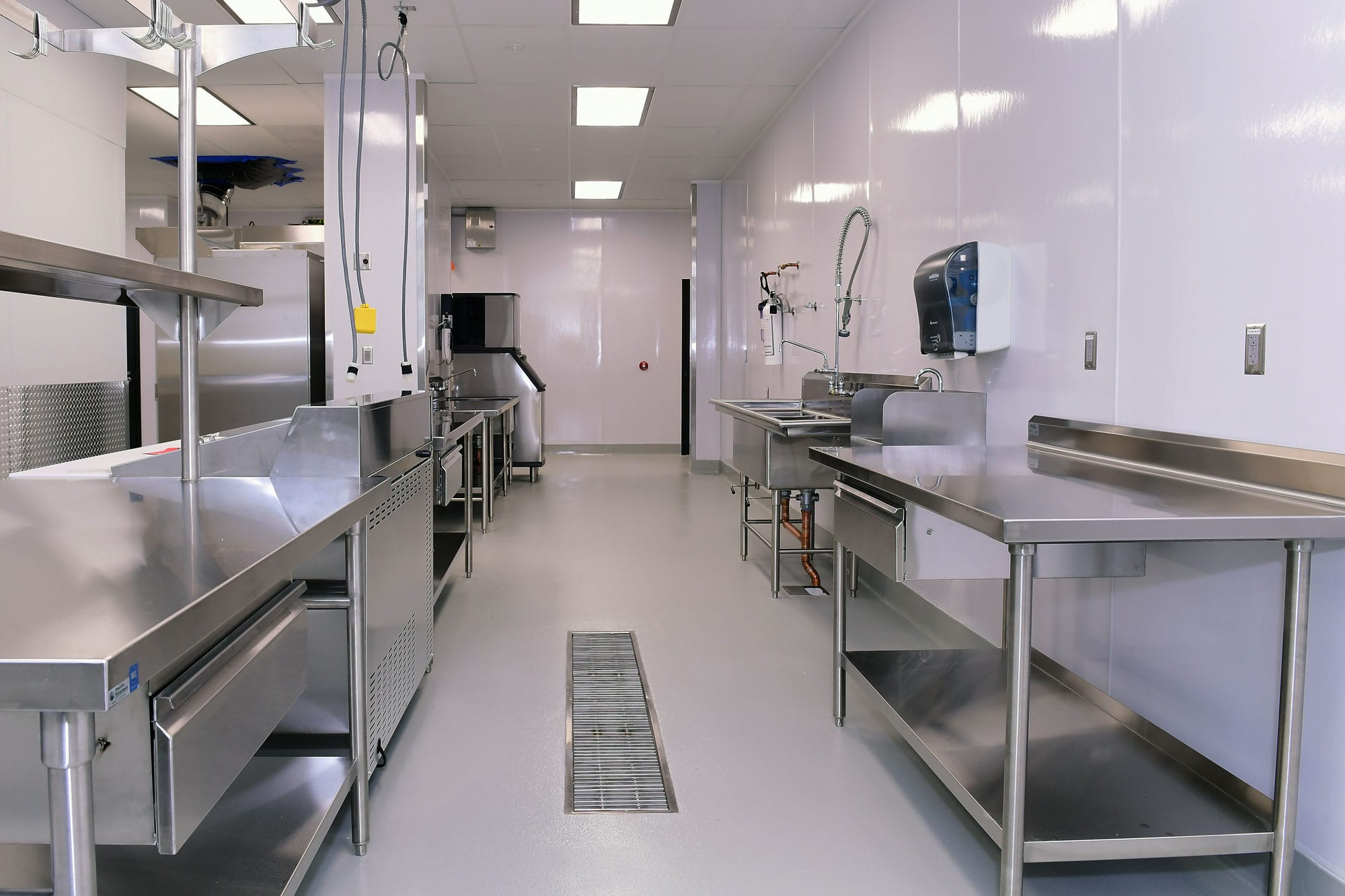 Chemeketa Community College inside kitchen