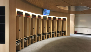 Oregon State Men's Basketball Locker Room